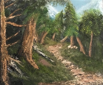 "Wilderness Oil on Canvas 24"" x 20"""