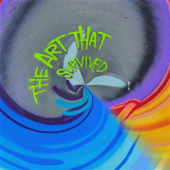 """The Art that Survived Archival Pigment Print 36"""" x 36"""""""