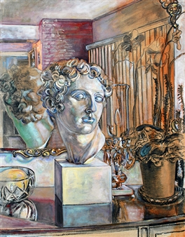 Still Life with Classical Bust, 3rd State, 6-14