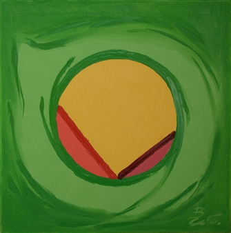 """Expression 2-3 Oil on Canvas 24"""" x 24"""""""