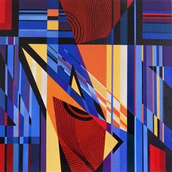 """Gloria Acrylic on Canvas 24"""" x 24"""""""