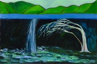 """Deep Consideration Oil on Canvas 24"""" x 36"""""""
