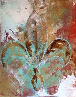 "Spirit of A Saint M/M  on Canvas 24"" x 18"""