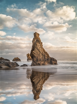 """Rocky Reflection Sunset - Victor Fernandes - United states Photograph 0"""" x 0"""""""