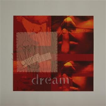 """dream Acrylic & Mixed Media on Paper 15.7"""" x 15.7"""""""