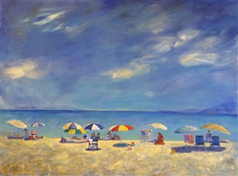 Sunny Day at the Beach