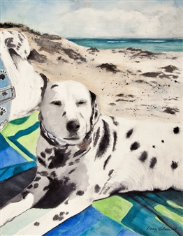 Dalmation Beach Fun
