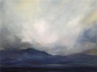 """Thundercloud 2 Oil on Canvas 30"""" x 40"""""""