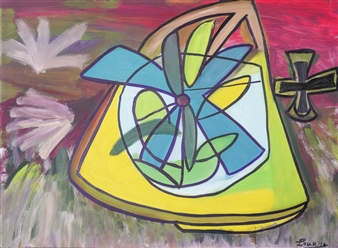 """The Joy of Spring Oil on Canvas 27.5"""" x 39.5"""""""