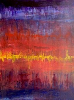 """Rhythm of My Heart Acrylic on Canvas 48"""" x 36"""""""