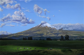 """Cotopaxi Oil on Canvas 40"""" x 60"""""""