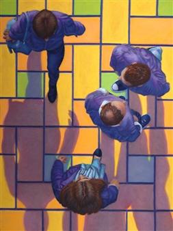 """Overlook #19 Shadow Play Pastel on Board 24"""" x 18"""""""