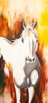 """Untitled #5 Oil on Wood 48"""" x 24"""""""