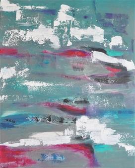 """Touché Acrylic on Canvas 39.5"""" x 32"""""""