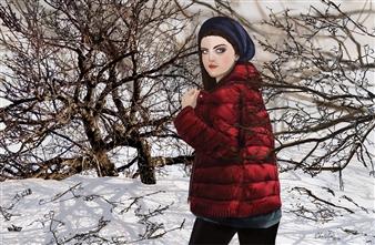 "Winter Digital Painting on Aluminum 28"" x 42"""