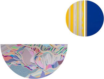 "Renewal / Part II Acrylic on Canvas 51"" x 60"""