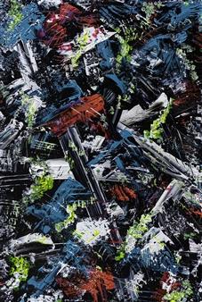"""Nostalgia Acrylic on Canvas 35.5"""" x 27.5"""""""