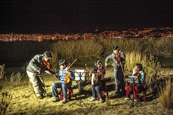 """The Music of Andes Digital Photography 27.5"""" x 38.5"""""""