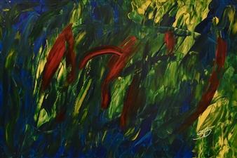 "Imbroglio Acrylic on Canvas 24"" x 36"""