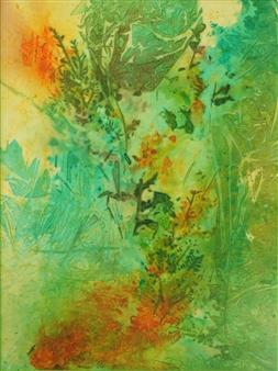 "Soft Feel of Summer Ink on Clayboard 24"" x 18"""