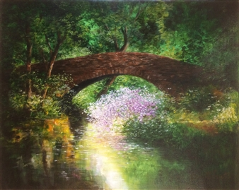 Cotswolds Old Stone Bridge