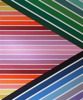 """Parallax I Acrylic on Canvas 60"""" x 72"""""""