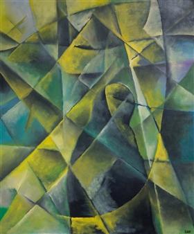 """Sorrow Oil on Canvas 47"""" x 39"""""""