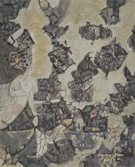 """Knar 5 Soil on Canvas 25.5"""" x 21"""""""