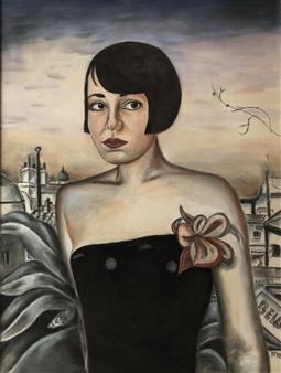 """Anina Oil on Canvas 31.5"""" x 23.5"""""""