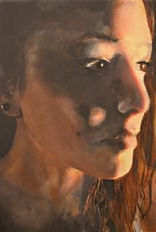 """Ivana Oil on Canvas 15.5"""" x 12"""""""
