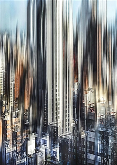 "City Density 11 Digital C-Print 27.5"" x 20"""