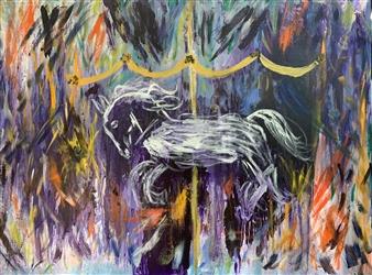 """Carousel Oil on Canvas 30"""" x 40"""""""