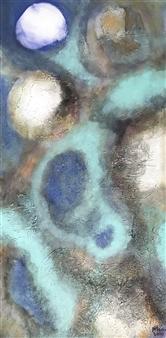 """The Wave Acrylic on Canvas 39.5"""" x 20"""""""