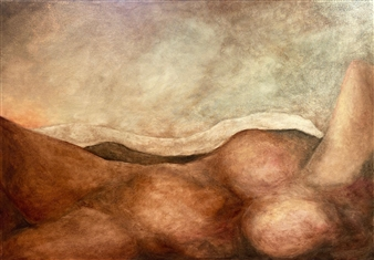 """First Light Oil on Canvas 27.5"""" x 39.5"""""""