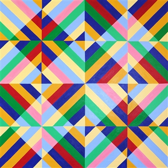"""The Mystery of Geometry #6 Acrylic on Canvas 31.5"""" x 31.5"""""""