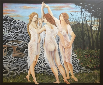 Sandro Botticelli's Graces Dance into the 21st Centuries