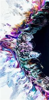 "Abstract 5 Acrylic on Canvas 48"" x 24"""