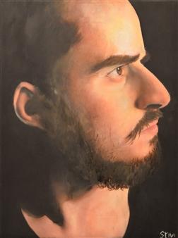 """Lucas Oil on Canvas 16"""" x 12"""""""