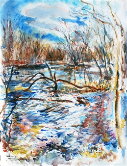 Ipswich River Windy