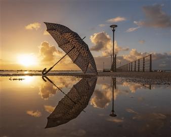 "Umbrella addiction - Fazembat Emmanuel - France, Metropolitan Photograph 0"" x 0"""