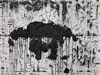 """The Meltdown Acrylic on Canvas 36"""" x 48"""""""