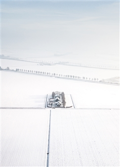 "Dutchscape Photographic Print on Aluminium Dibond 24"" x 16"""