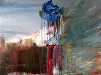 """The Gap Acrylic on Canvas 30"""" x 40"""""""