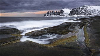 Dragon's Jaw  (Norway, Lofoten Islands)