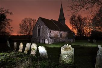 """All Saints Church, Ulting, Essex Digital Print on Fine Art Paper 12"""" x 18"""""""