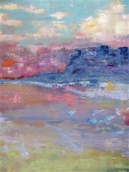 "Dreamland Oil on Canvas 27.5"" x 27.5"""