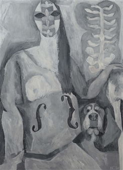 A Woman with a Dog 2
