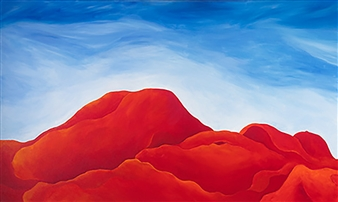 """Red Rock Country 2 Acrylic on Canvas 30"""" x 60"""""""