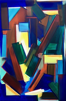 """New Old Color Study #2 Acrylic on Canvas 18"""" x 12"""""""