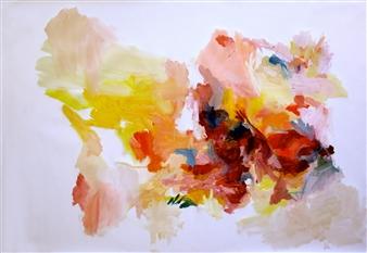 """Aproximación a lo inefable nro 2 Oil on Canvas 27.5"""" x 39.5"""""""